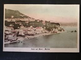 CARTOLINA ANTICA-VIETRI SUL MARE-SALERNO-MARINA-'900 - Cartoline