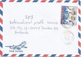Mali 1996 Bamako Philatelie Dove United Nations UN Cover - Mali (1959-...)