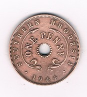 ONE PENNY 1944 RHODESIE /5848/ - Rhodesien