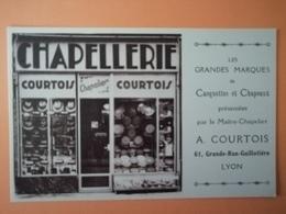 Lyon Chapellerie Courtois Tbe - Lyon