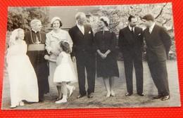 Léopold III, Liliane Baels Princesse De Réthy, Grand Duc Henri , Princesse Joséphine Charlotte, Grande Duchesse De Lux. - Familles Royales
