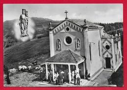 CARTOLINA VG ITALIA - COSTABISSARA (VI) - Chiesa Votiva E Immagine Della Madonna Delle Grazie - 10 X 15 - 1964 - Iglesias Y Las Madonnas