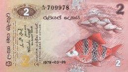 Sri Lanka 2 Rupees, P-83 (26.3.1979) - UNC - Sri Lanka