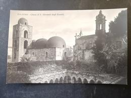 CARTOLINA ANTICA-PALERMO-CHIESA DI S.GIOVANNI DEGLI EREMITI-'900 - Cartoline