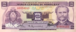 Honduras 2 Lempiras, P-61 (23.9.1976) - UNC - Honduras