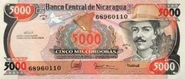 Nicaragua 5.000 Cordobas, P-157 (1988) - UNC - Nicaragua