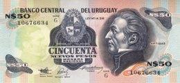Uruguay 50 Nuevos Pesos, P-61A (1989) - UNC - Uruguay