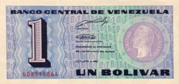 Venezuela 1 Bolivar, P-68 (1989) - UNC - Venezuela