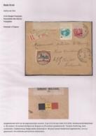 AANGETEKENDE BRIEFOMSLAG VAN LEGERPOSTERIJ 6-13.X.16 NAAR HULST MET DIVERSE PATRIOTTISCHE SLUITSTROKEN - Autres Lettres