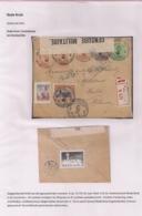 AANGETEKENDE BRIEFOMSLAG VAN DE LEGERPOSTERIJ 6-21.VIII.1916 NAAR HULST -DUBBELCENSUUR BELGIE EN NEDERLAND - Autres Lettres