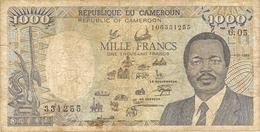CAMEROUN  --1000 FRANCS 1988 - Cameroun