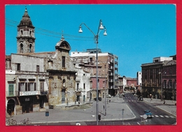 CARTOLINA VG ITALIA - CASAMASSIMA (BA) - Piazza Municipio - 10 X 15 - 1969 BARI TORRE A MARE - Bari