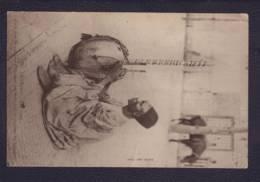 "Carte à Vue ""musicien"" Obl. Dakar 09.11.1904 -> Anvers - Sénégal"