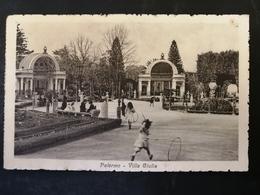 CARTOLINA ANTICA-PALERMO-VILLA GIULIA -'900 - Postales