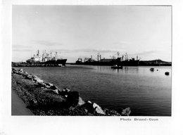 SAINT-PIERRE ET MIQUELON - Meilleurs Voeux Pour L'Année Nouvelle (bâteaux) (Carte Double Phot. Briand-Ozon) - Saint-Pierre-et-Miquelon