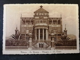CARTOLINA ANTICA-PALERMO-LA FAVORITA-PALAZZINA IN STILE CINESE-'900 - Postales