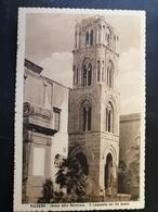 CARTOLINA ANTICA-PALERMO-CHIESA DELLA MARTORANA-IL CAMPANILE DEL XII SECOLO-'900 - Postales