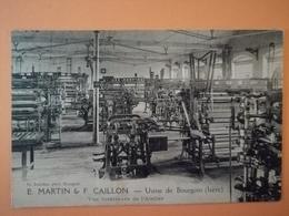 Usine De Bourgoin E. Martin Et F. Caillon - Bourgoin