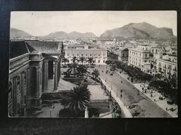 CARTOLINA ANTICA-PALERMO-PIAZZA G. VERDI-'900 - Postales