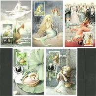 China 2005 200th Birthday Of Hans Christian Andersen, 5 Maximumscard From Fairy Tales, Mi 3635-3639 - 1949 - ... Volksrepubliek