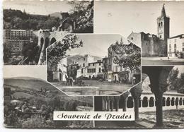 1959 Prades Molitg  - Souvenir De ... - 5 Photo's Sur La Carte - Ed. CAP - A Voir Timbres TAXE - Autres Communes
