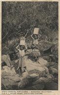 P.E.A.  Margarida Vai A Fonte . Native Tribe . Nude Girl Carrying Water . Edit Santos Rufino - Mozambique