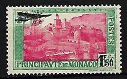 """Monaco Aerien YT 1 (PA) """" TP 102 Surchargé 1F50 Sur 5F. """" 1945 Neuf** - Aéreo"""