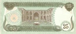 IRAQ  --  25 DINARS  ( Unc ) - Iraq