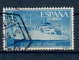 SPAGNA 1956 - NAVE CITTA' DI TOLEDO - USATO - 1931-Oggi: 2. Rep. - ... Juan Carlos I