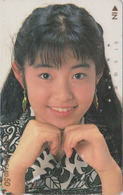 Rare Télécarte Ancienne Japon / 110-011 - FEMME - Woman Girl Japan Phonecard - FRAU Telefonkarte -  6127 - Japon