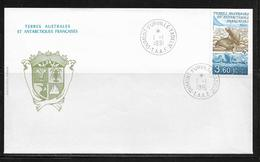 T.A.A.F.  ( TA9 - 9 ) 1991  N° YVERT ET TELLIER  N° 159 - French Southern And Antarctic Territories (TAAF)