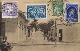 Inhambane Rua Coronel Galhardo. 4 Stamps But Not Postally Used - Mozambique