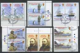 British Antarctic Territory (BAT) 2002 Transport, Ships, Expeditions Used - Territoire Antarctique Britannique  (BAT)