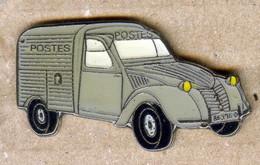 Pin's Série Limitée 2CV CITROËN LA POSTE - Voiture Automobile N°5 - Citroën