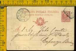 Regno Cartolina Intero Postale Niguarda Caponago - 1900-44 Vittorio Emanuele III