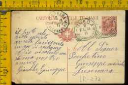 Regno Cartolina Intero Postale Ovada Tresonara - 1900-44 Vittorio Emanuele III