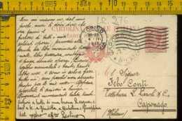 Regno Cartolina Intero Postale Torino Caponago - 1900-44 Vittorio Emanuele III