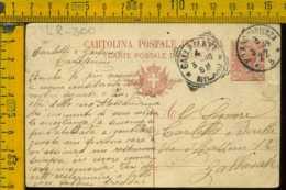 Regno Cartolina Intero Postale Milano Gallarate - 1900-44 Vittorio Emanuele III
