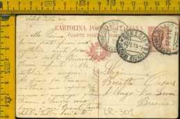 Regno Cartolina Intero Postale Desenzano Brescia - 1900-44 Vittorio Emanuele III