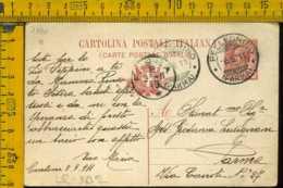 Regno Cartolina Intero Postale Pellegrino Parma - Storia Postale