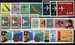 Portugal Nº 974/6, 1065/8, 1169/72, 864/7, 932/4, 1189/91. Año 1960/73 - 1910-... Republic