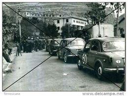 GARA IN SALITA AL MONTEPELLEGRINO PALERMO START ANNI 50 FOTO AGENZIA 13X18 1100 - Sport