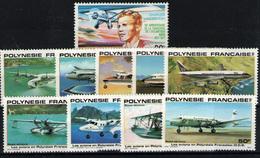 Polinesia Francesa (aéreos)nº 125, 148/52, 156/9. Año 1977/80 - Frans-Polynesië