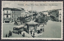 Italia  -  PIOMBINO, Piazza Vitt Eman - Via Roma E Via Carducci - Bus - Livorno