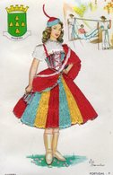 Folklore : PORTUGAL - Madeira (CP Brodée) - Costumes