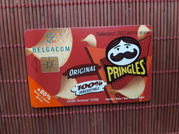 Pringles Phonecard Used - Mit Chip
