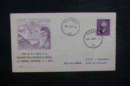 TURQUIE - Enveloppe FDC En 1957  - L 37737 - 1921-... République
