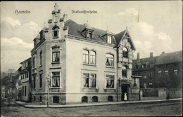 Cp Hameln In Niedersachsen, Diakonissenheim, Straßenansicht - Allemagne
