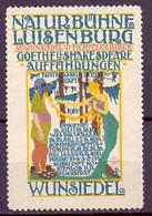 CINDERELLA ERINOFILO NATURBUHNE LUISEMBURG WUNSIEDEL (GIUGN19C00014) - Erinnofilia