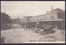 CPA  Suisse,  GENEVE, Gare De Cornavin - GE Genève